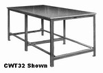 "ALPINE 46 X 22"" CERAMIC WORK TABLE"