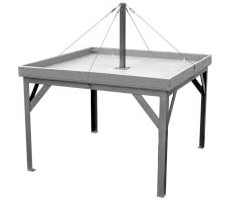 ALPINE WGT6 SIX PERSON WEDGING TABLE