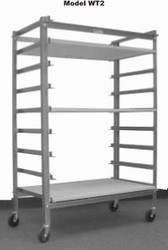 "ALPINE 24 X 32 X 54"" WARE CART"