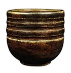 PC-62 Amaco Potters Choice Glaze Textured Amber Brown Glaze Pint