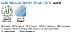 Amaco TL-1 Low-Fire Texturizer: Dry
