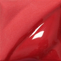 V-387 Bright Red (2oz) Amaco Velvet Under-Glaze