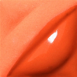 V-389 Flame Orange 2 oz Amaco Velvet Under-Glaze
