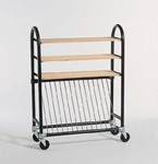 BRENT KILN SHELF CART