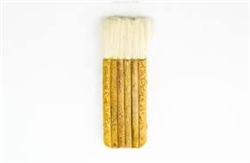 4 Stem MULTI HAKE Japanese Style Potter's Brush 1""