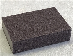 Diamond Sanding Sponge 100 Grit by Chinese Clay Art for Glass and Ceramics