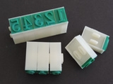 "Letter Stamp Set 3/8"" by Chinese Clay Art"