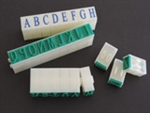 "Letter Stamp Set 5/8"" : Chinese Clay Art"