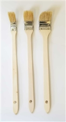 Tilted Bristle Brushes - Set of 3