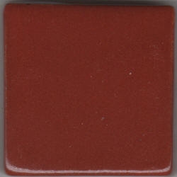 MBG142 Brick Red (pint) Coyote Texas Two Step Oil Spot Glaze