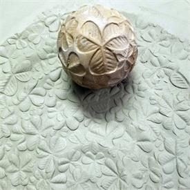 Texture Sphere TS-17 Clovers Moon Ball Clay Planet