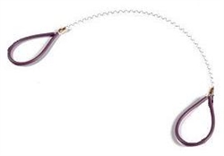 "9""  Ergonomic Wiggle Wire :Color Lavender : Dirty Girls Pottery Tools"
