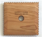 Garrity Tools  Potters Tool Texture Micro