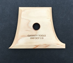 Garrity Tools Wooden Potters Unfoot2 Tool