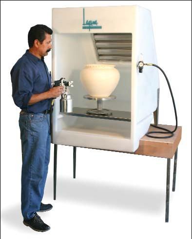 Laguna Pro X Seamless Spray Booth