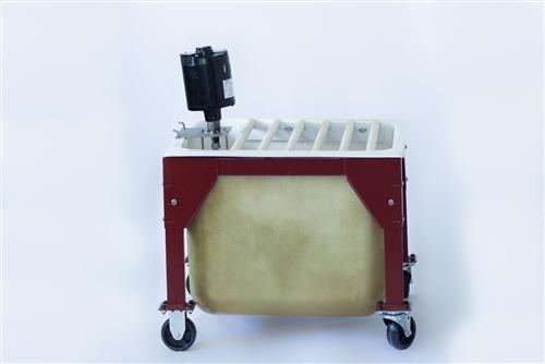 PP30 Porta Potter Casting Table With Pump : Lehman Slip Casting Equipment