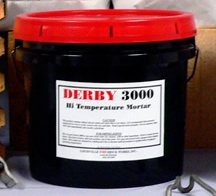 DERBY 3000HT fire clay mortar or kiln cement