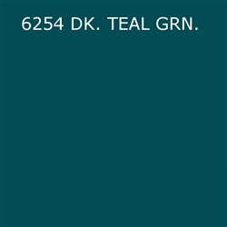 Mason Stain #6254 Dark Teal Green Quarter Pound