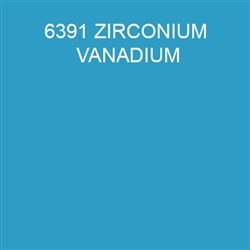 Mason Stain #6391 Zirconium Vanadium Blue Quarter Pound
