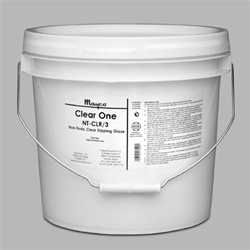 MAYCO Non-Toxic Clear One Dipping Glaze : 3 Gallon Pail