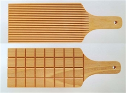 MKM Clay Tools : LP-01 Large Paddle : Lines and Squares