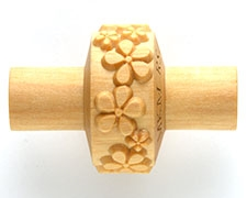 MKM Tools 1.5CM Texture Roller 024 Embossed flowers