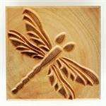 MKM Stamps4Clay - Large Square #05 (Dragonfly)