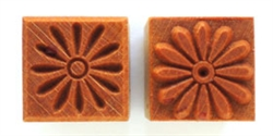 MKM Stamps4Clay - Medium square #103 (Daisy)