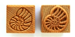 MKM Stamps4Clay - Medium Square #121 (Ammonite)