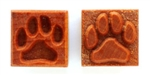 MKM Stamps4Clay - Medium Square #144 (Dog paw print)