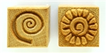 MKM Stamps4Clay, Medium Square #20 (Spirals)