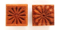 MKM Stamps4Clay - Small Square #103 (Daisy)