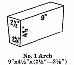 NC23A1: G-23 Soft Brick IFB Insulating Firebrick ARCHES #1