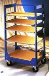SHELF TRUCK PACKAGE-With 5 Shelves by NorthStar