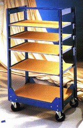 North Star Equipment Shelf Truck with Casters