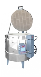 "Olympic 2323H ""Stackable"" Electric Kiln with V6-CF Electronic Controller : 5.83 Cu. Ft:  Cone 10"