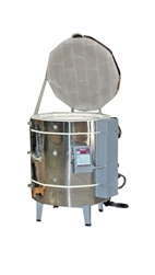 "Olympic 2327 ""Stackable"" Electric Kiln with V6-CF Electronic Controller : 7 Cu. Ft:  Cone 8"