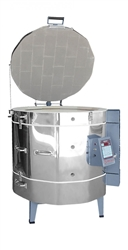 "Olympic 2827H ""Stackable"" Electric Kiln with V6-CF Electronic Controller : 10 Cu. Ft:  Cone 10"