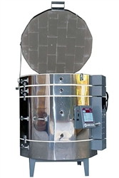 "Olympic 2831H ""Stackable"" Electric Kiln with V6-CF Electronic Controller : 11.67 Cu. Ft:  Cone 10"