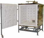 OLYMPIC KILNS DD24 - DOWNDRAFT KILN Gas or Propane