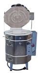 Olympic DUAL MEDIA KILN 1823HE: 3.29 cu. ft. : Cone 10  with RTC-1000 Digital Controller