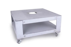 "Paragon 24"" x24"" x 12"" High Deluxe Kiln Stand with Casters for 10 Sided Kilns"