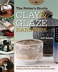 CLAY and GLAZE HANDBOOK: Jeff Zamek :Paper Back Book