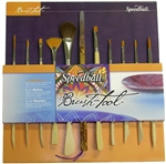 Speedball The Master Set - 11 Dual End Carving and Brush Tools