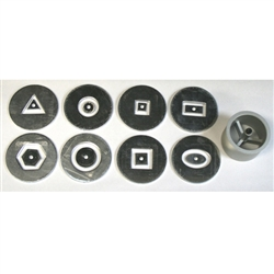 Shimpo Hollow Die Set for Shimpo and Scott Creek Hand Extruders