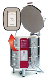 Skutt Kiln KMT1027-3 Package with Vent,  Furniture and Touch Screen
