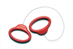 Sherrill Mudtools : Curly Cut Off Wire (red)