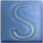 Spectrum Glaze 263 Low-fire Satin Quebec Blue