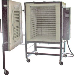 Olympic FL17  Front Loading Kiln Package