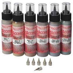 Spectrum Glaze Raised Accent Colors Set #2
